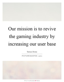 Our mission is to revive 