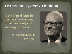 Teams and Systems Thinking