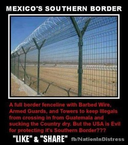 MEXICO•s SOUTHERN BORDER 