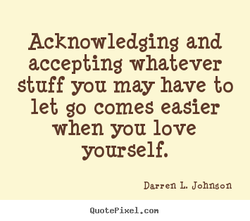 Acknowledging and 