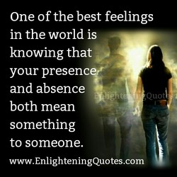 One of the best feelings 