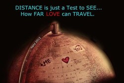DISTANCE is just a Test to SEE... 
