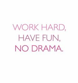 WORK HARD, 
