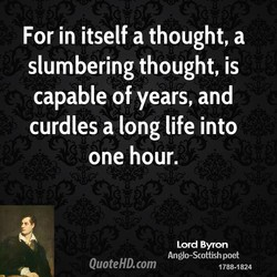 For in itself a thought, a 