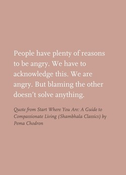 People have plenty ofreasons 