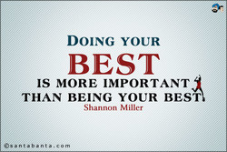 DOING YOUR 