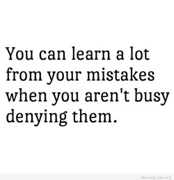 You can learn a lot 