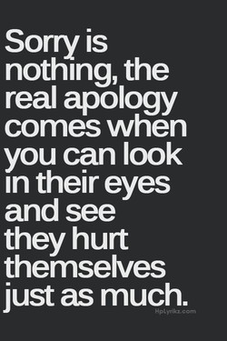 Sorry is 