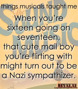 thingsmusicalS tyught me 