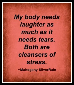 My body needs 