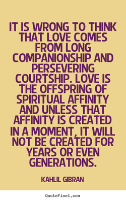 IT IS WRONG TO THINK 
