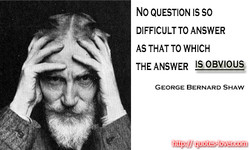 No QUESTION IS SO 