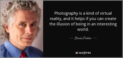 Photography is a kind of virtual 