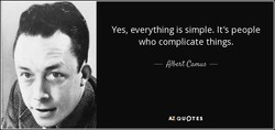 Yes, everything is simple. It's people 