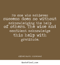 No one who achieves 