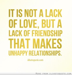 IT NOT A LACK 