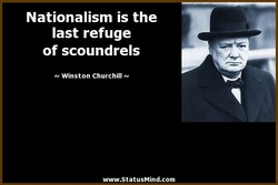 Nationalism is the 
