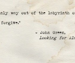 nly way out of the labyrinth o: 