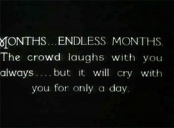 (ONTHS. ENDLESS MONTHS 