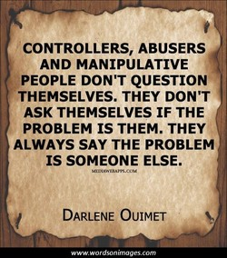 CONTROLLERS, ABUSERS 