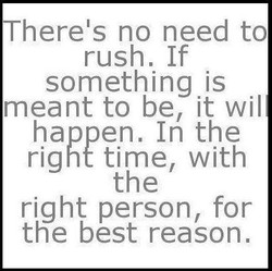 There's no need to 