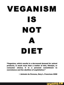 VEGANISM 
