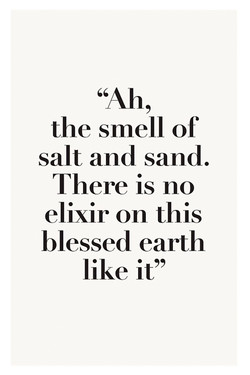 the smell of 