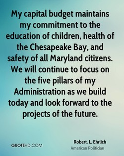 my capital budget maintains 