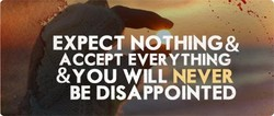 EXPECT N THING& 