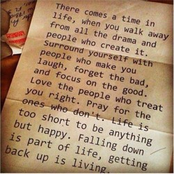There comes a time in