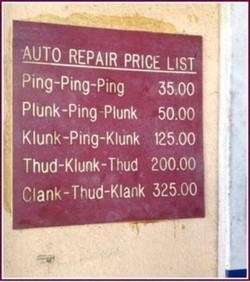 AUTO REPAIR PRICE 1ST 