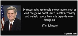 By encouraging renewable energy sources such as 