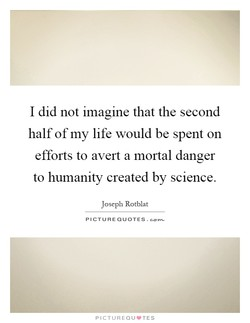 I did not imagine that the second 