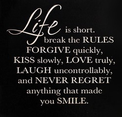 is short, 