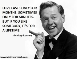 LOVE LASTS ONLY FOR 