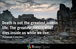 Death is not the greatest,lXin 