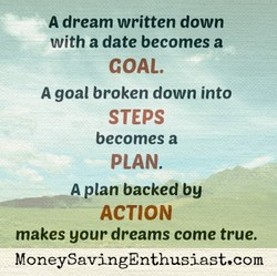 A dream written down 