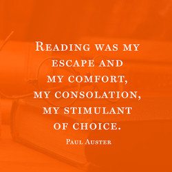READING WAS MY 