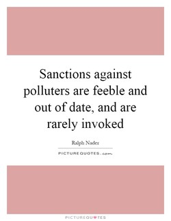 Sanctions against 
