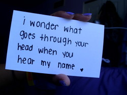 'l wonder what 
