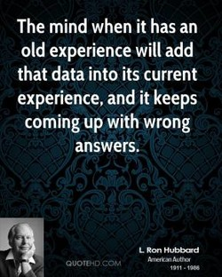 The mind when it has an 