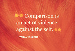 Comparison is 