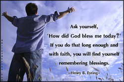 Ask yourself, 