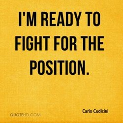 I'M READY TO 
