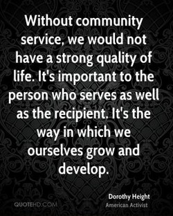 Without community 