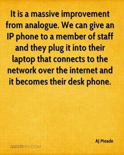 It is a massive improvement 