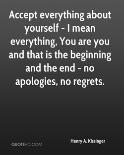 Accept everything about 