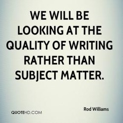 WE WILL BE 