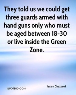 They told us we could get 