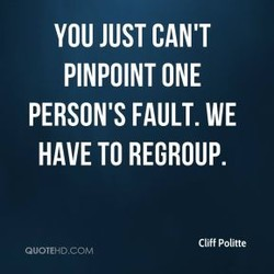 YOU JUST CAN'T 